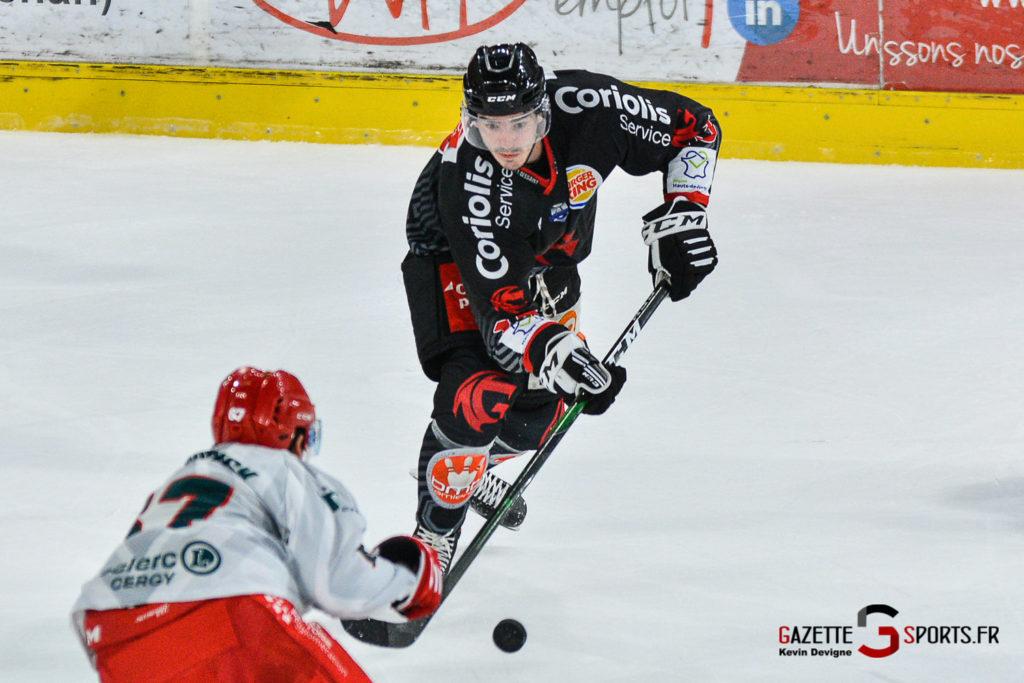 Hockey Sur Glace Amiens Vs Cergy J1 Kevin Devigne Gazettesports 90