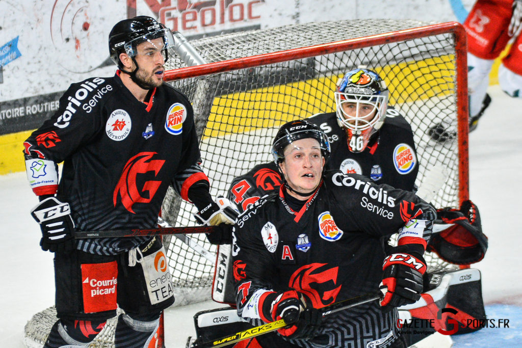 Hockey Sur Glace Amiens Vs Cergy J1 Kevin Devigne Gazettesports 92