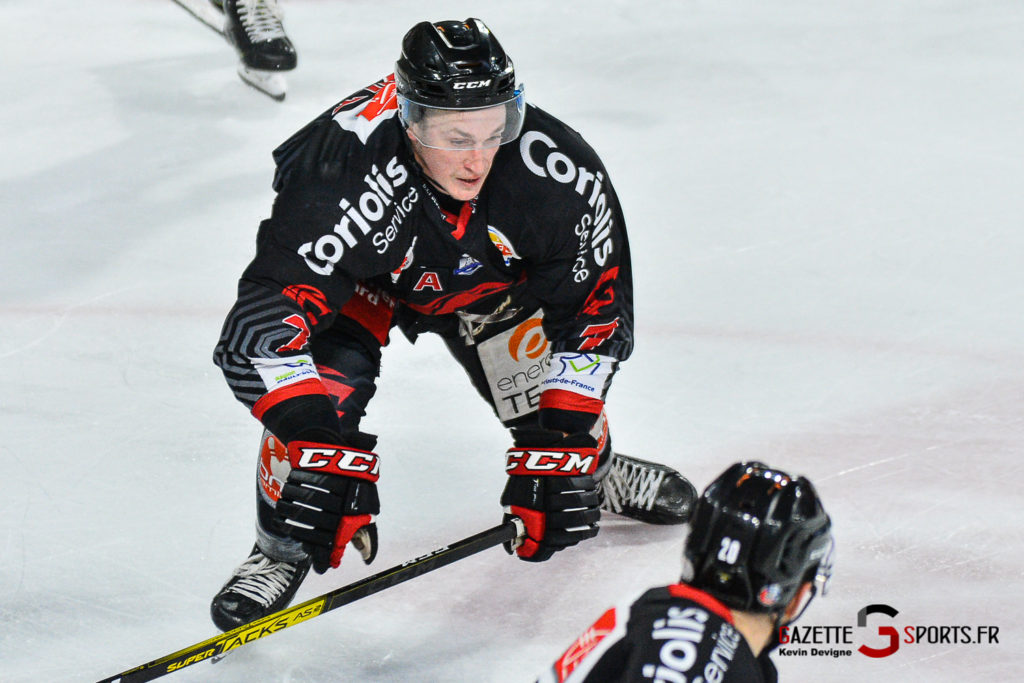 Hockey Sur Glace Amiens Vs Cergy J1 Kevin Devigne Gazettesports 93