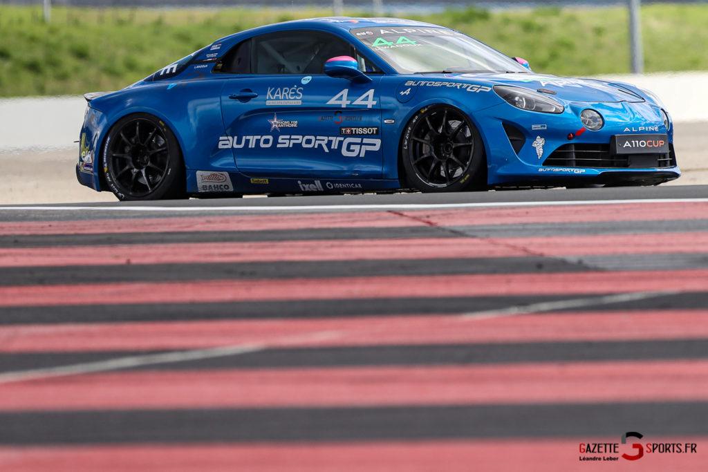 03102020 Alpine Elf Europa Cup Le Castellet Course 1 Et 2 Autosport Gp 0057 Leandre Leber Gazettesports