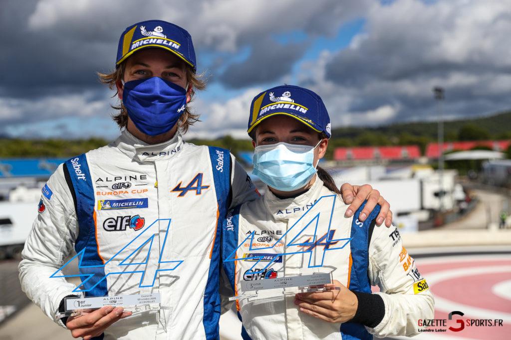 03102020 Alpine Elf Europa Cup Le Castellet Course 1 Et 2 Autosport Gp 0085 Leandre Leber Gazettesports
