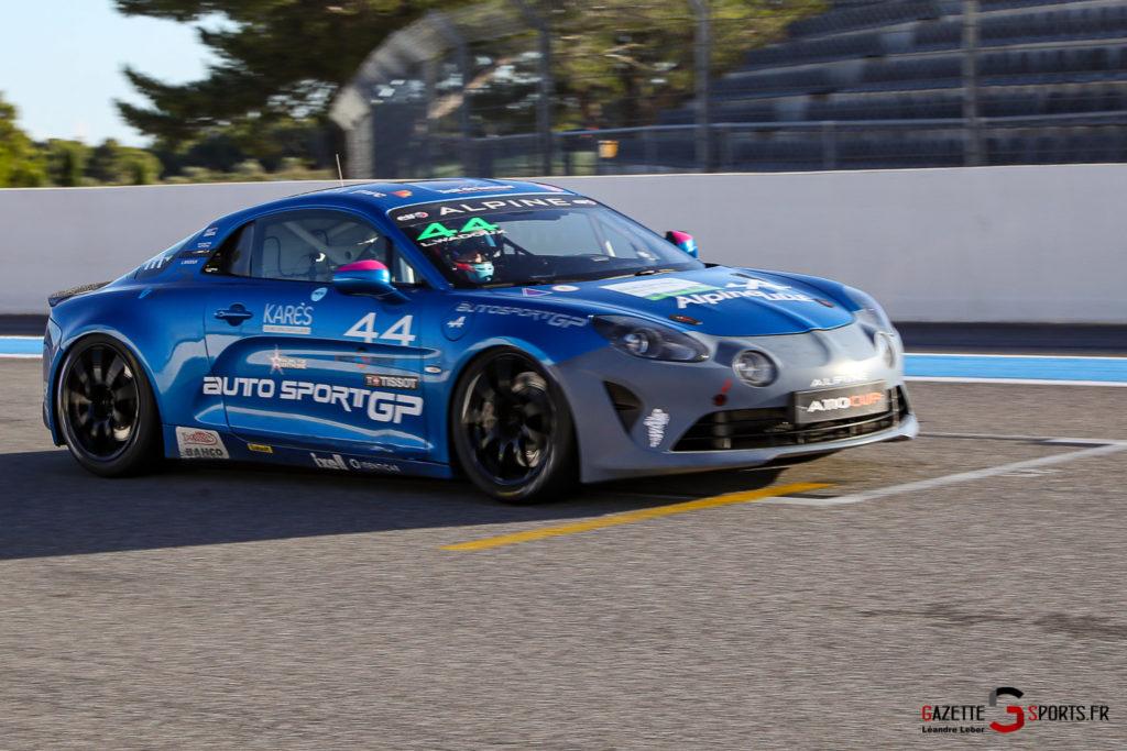 03102020 Alpine Elf Europa Cup Le Castellet Course 1 Et 2 Autosport Gp 0129 Leandre Leber Gazettesports