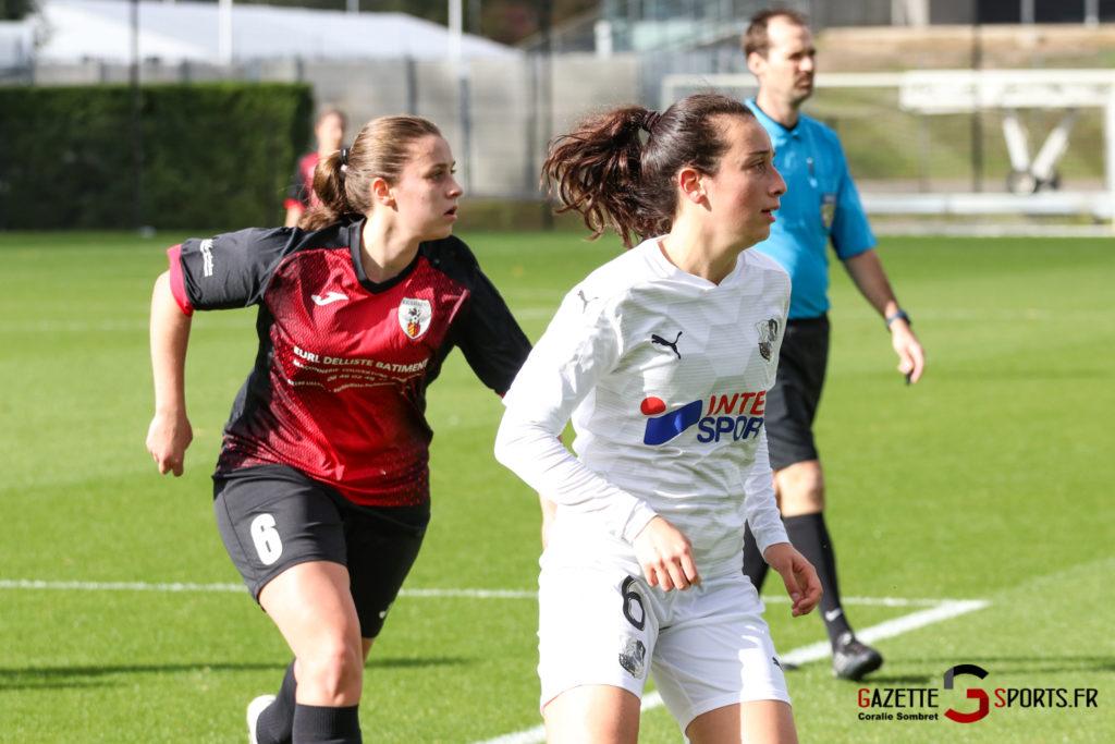 Football Feminin Asc Vs Lillers Gazettesports Coralie Sombret 12
