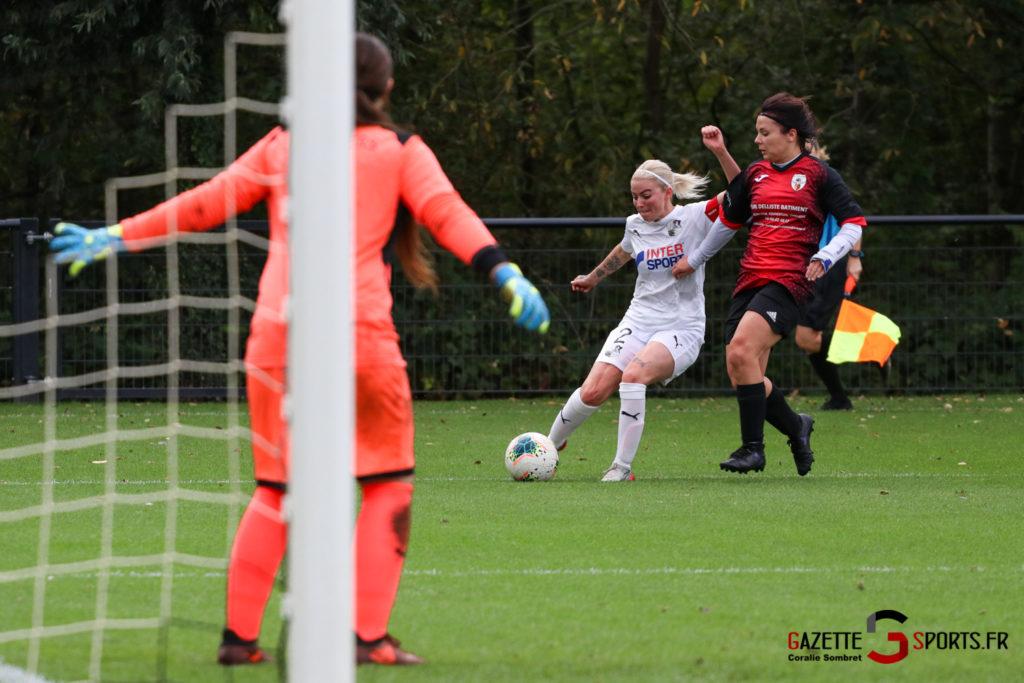 Football Feminin Asc Vs Lillers Gazettesports Coralie Sombret 14