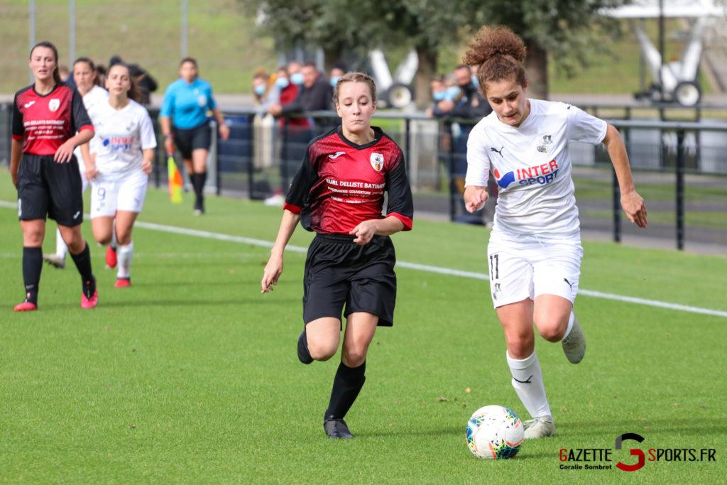 Football Feminin Asc Vs Lillers Gazettesports Coralie Sombret 18