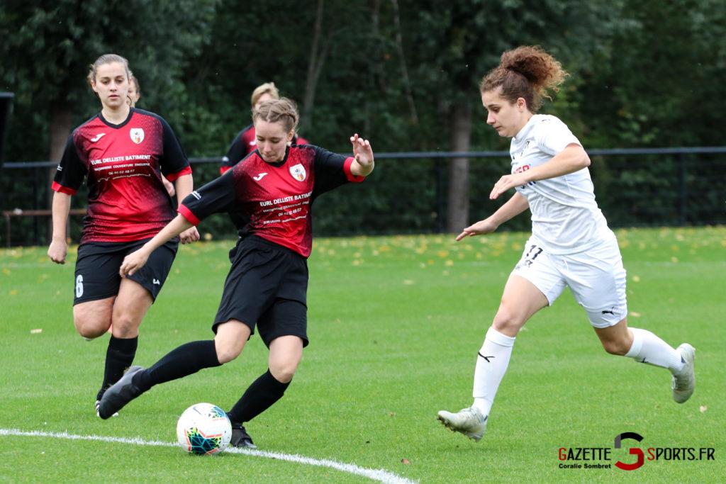 Football Feminin Asc Vs Lillers Gazettesports Coralie Sombret 2