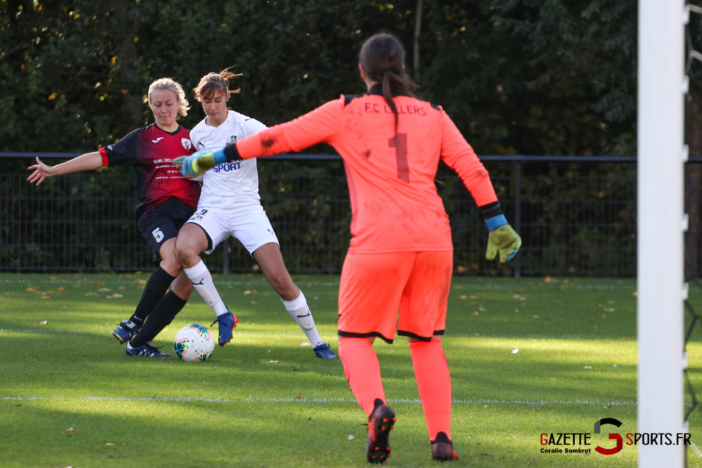 Football Feminin Asc Vs Lillers Gazettesports Coralie Sombret 28