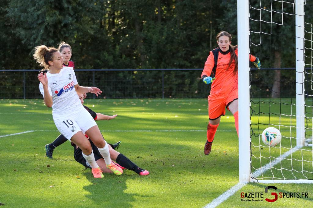 Football Feminin Asc Vs Lillers Gazettesports Coralie Sombret 31