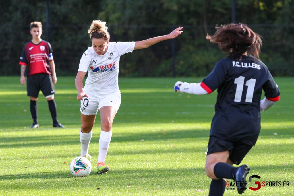 Football Feminin Asc Vs Lillers Gazettesports Coralie Sombret 37