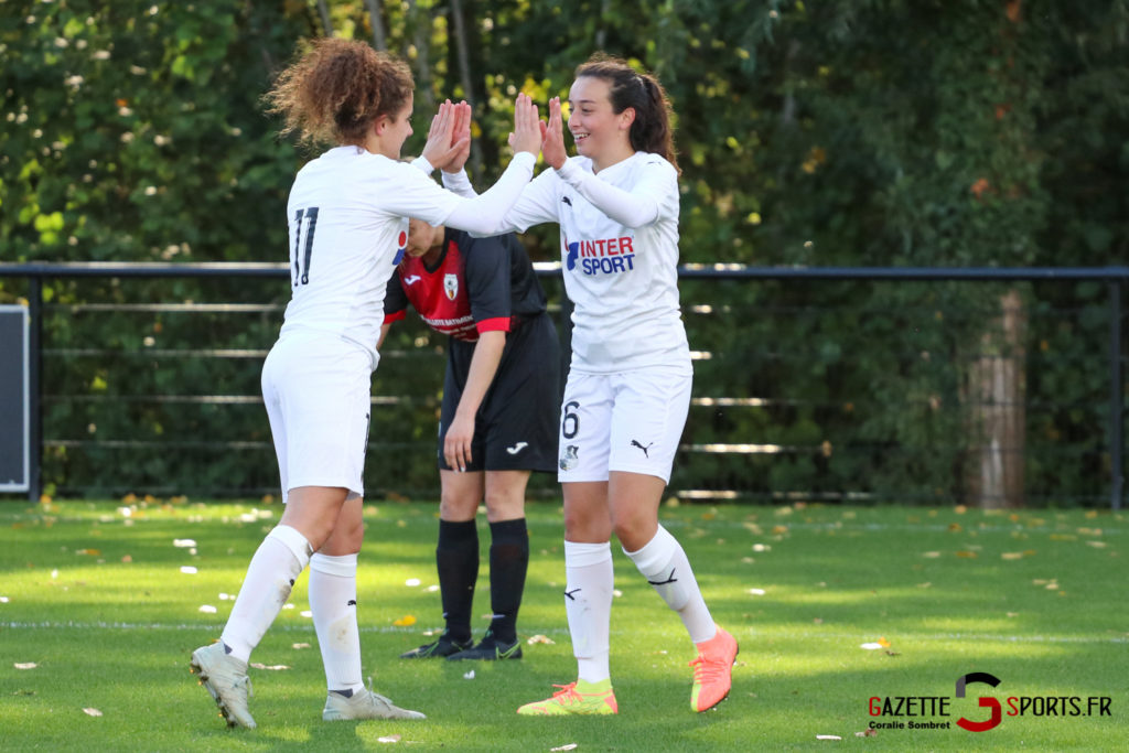 Football Feminin Asc Vs Lillers Gazettesports Coralie Sombret 38