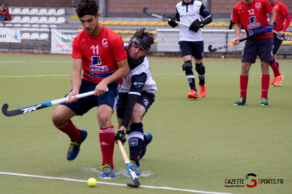 Hockey Sur Gazon Asc Vs Lille Mhc Reynald Valleron 10