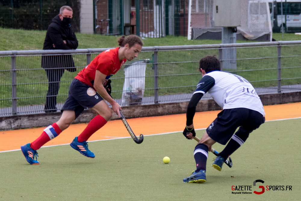 Hockey Sur Gazon Asc Vs Lille Mhc Reynald Valleron 17