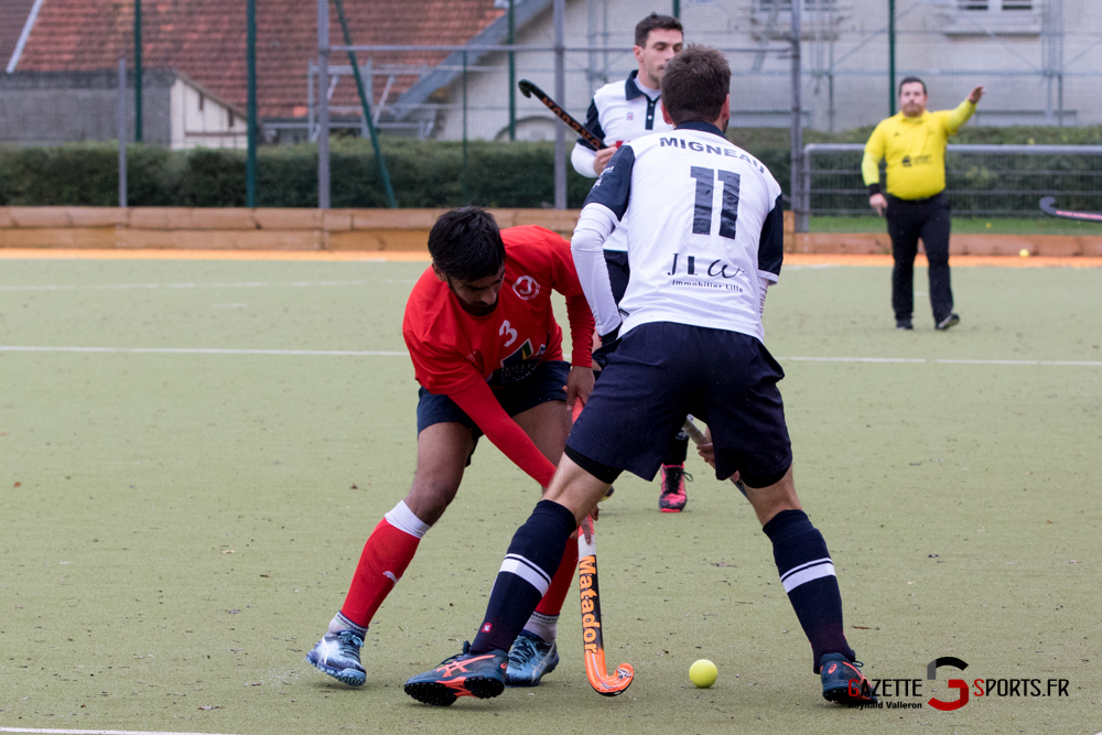 Hockey Sur Gazon Asc Vs Lille Mhc Reynald Valleron 28