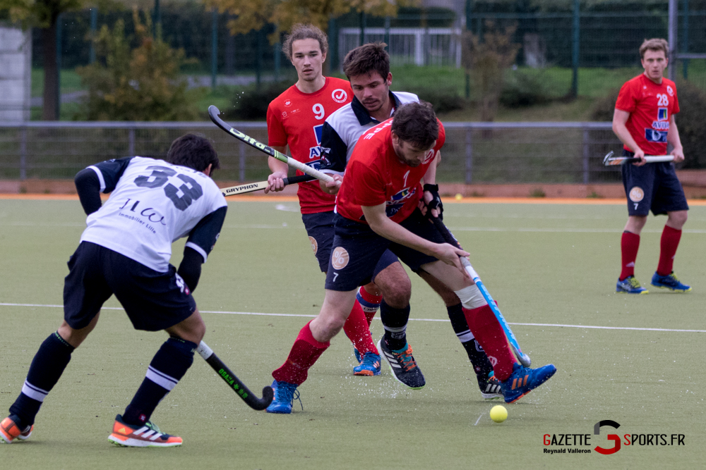 Hockey Sur Gazon Asc Vs Lille Mhc Reynald Valleron 30