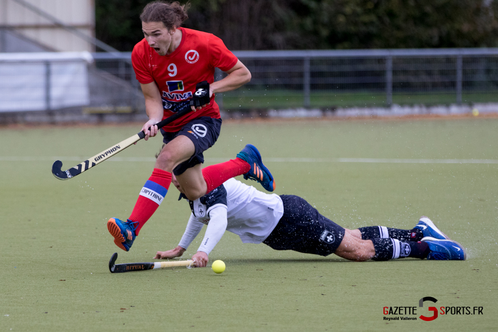 Hockey Sur Gazon Asc Vs Lille Mhc Reynald Valleron 40