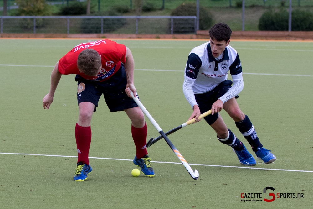 Hockey Sur Gazon Asc Vs Lille Mhc Reynald Valleron 42
