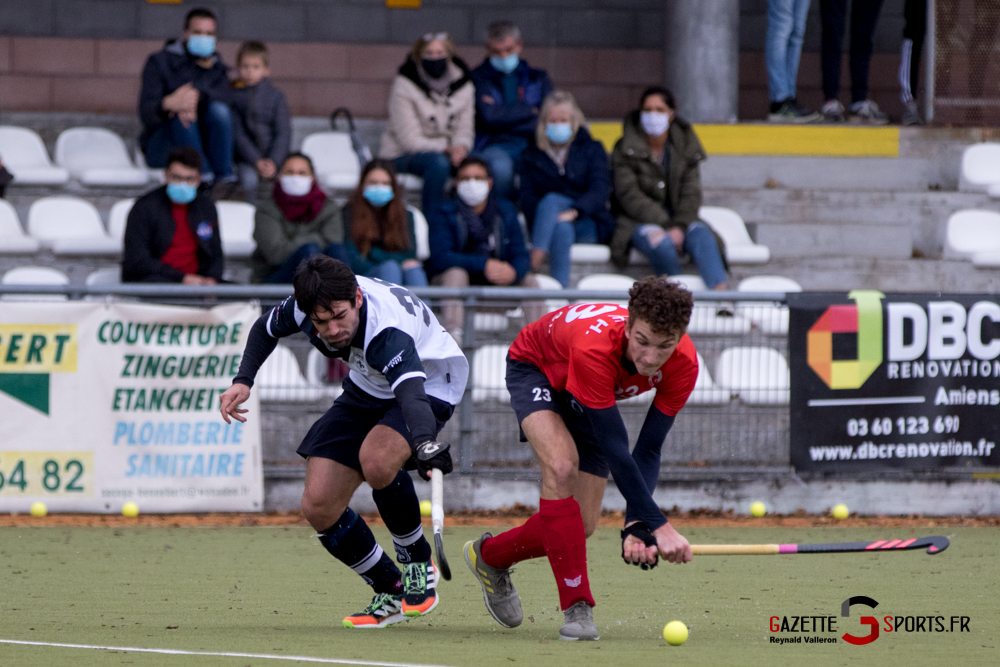 Hockey Sur Gazon Asc Vs Lille Mhc Reynald Valleron 45