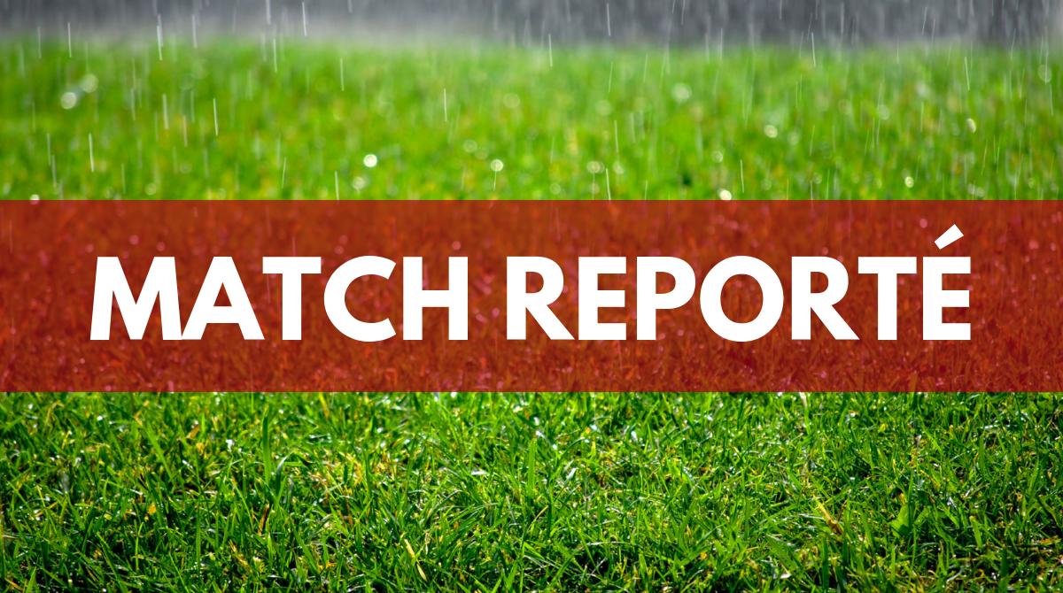 Match Reporté