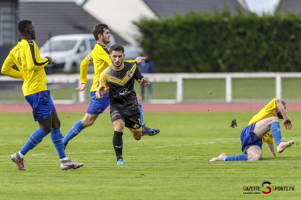 Football Us Camon Vs Le Portel 0002 Leandre Leber Gazettesports