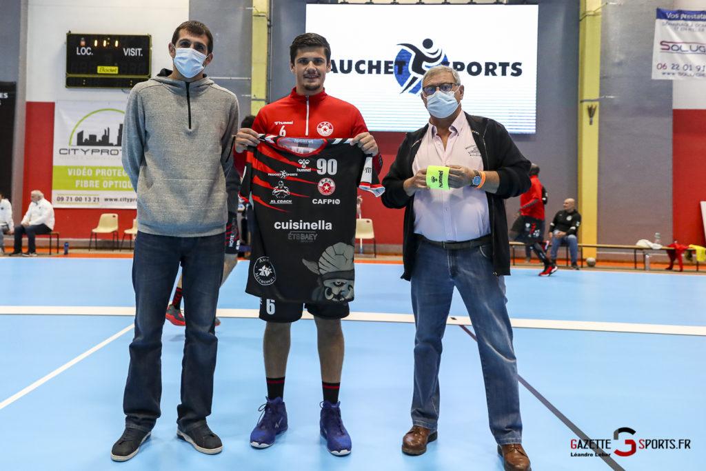Handball Amiens Aph Vs Psg B 0001 Leandre Leber Gazettesports