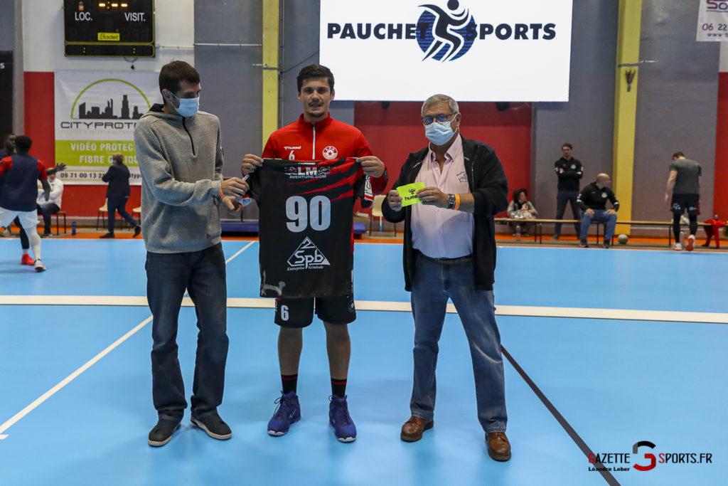 Handball Amiens Aph Vs Psg B 0002 Leandre Leber Gazettesports