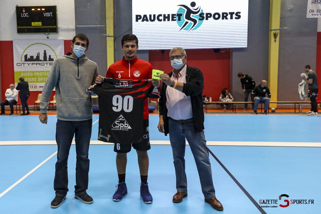 Handball Amiens Aph Vs Psg B 0003 Leandre Leber Gazettesports