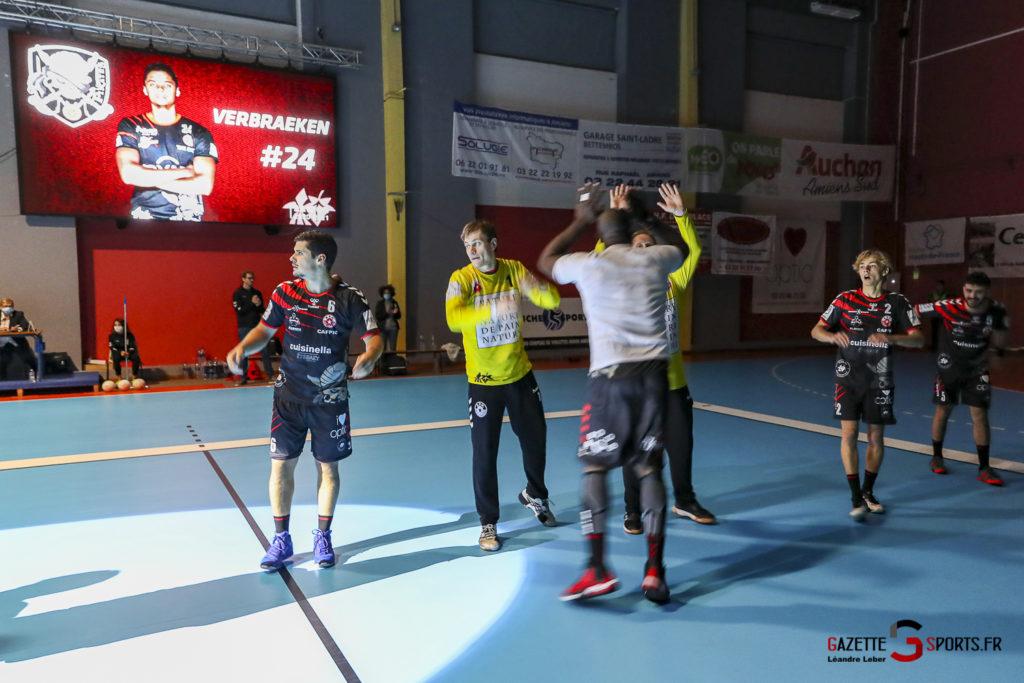 Handball Amiens Aph Vs Psg B 0004 Leandre Leber Gazettesports