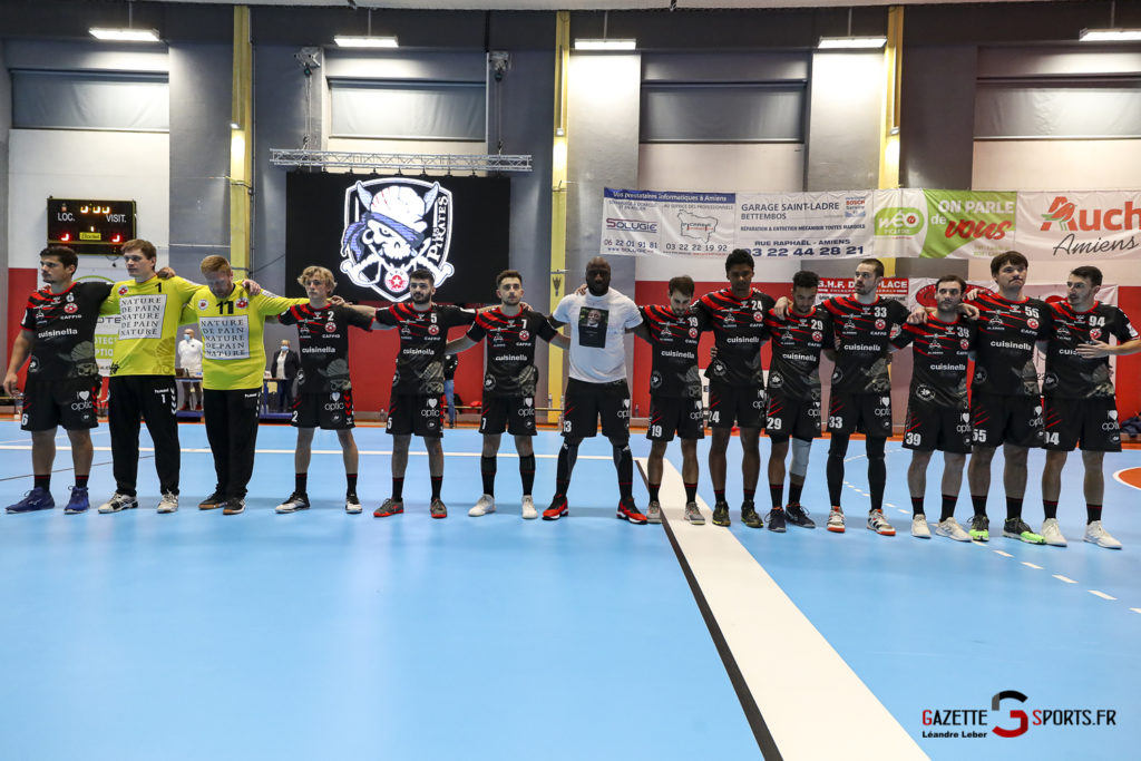 Handball Amiens Aph Vs Psg B 0005 Leandre Leber Gazettesports