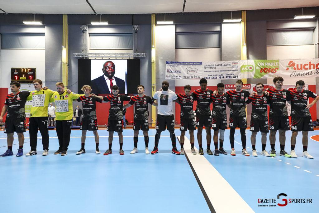 Handball Amiens Aph Vs Psg B 0006 Leandre Leber Gazettesports