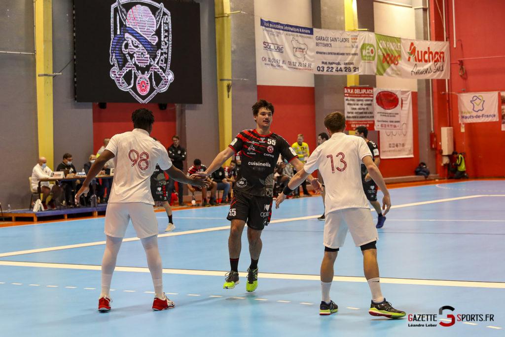 Handball Amiens Aph Vs Psg B 0007 Leandre Leber Gazettesports