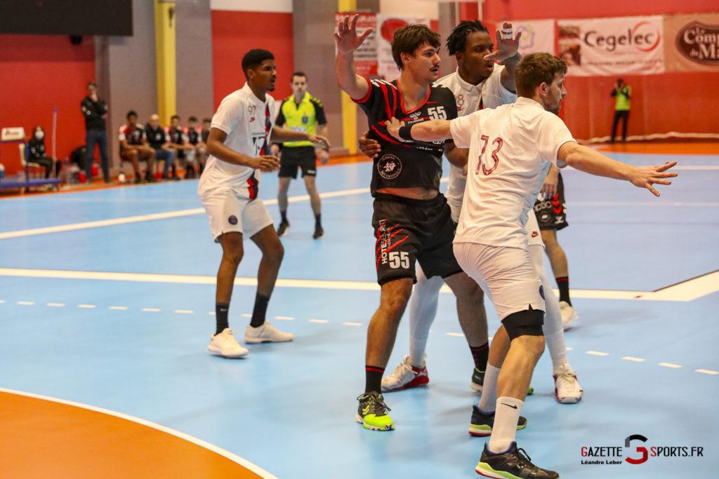 Handball Amiens Aph Vs Psg B 0008 Leandre Leber Gazettesports