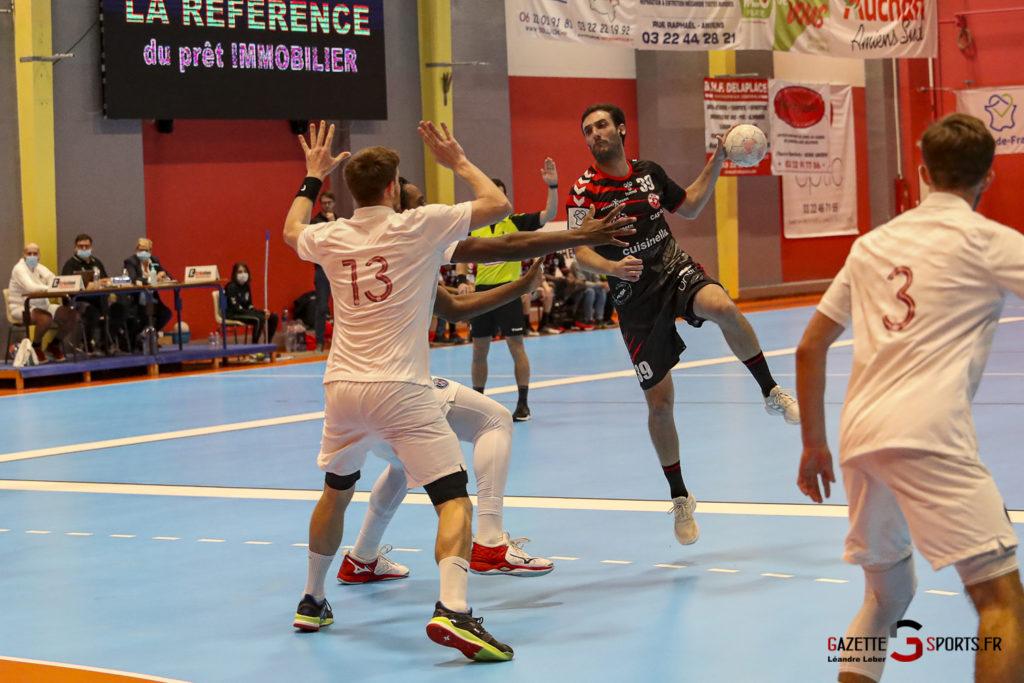 Handball Amiens Aph Vs Psg B 0009 Leandre Leber Gazettesports