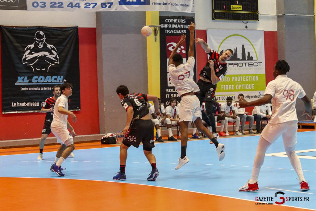Handball Amiens Aph Vs Psg B 0010 Leandre Leber Gazettesports