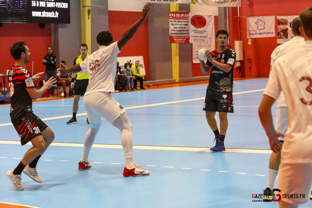 Handball Amiens Aph Vs Psg B 0011 Leandre Leber Gazettesports
