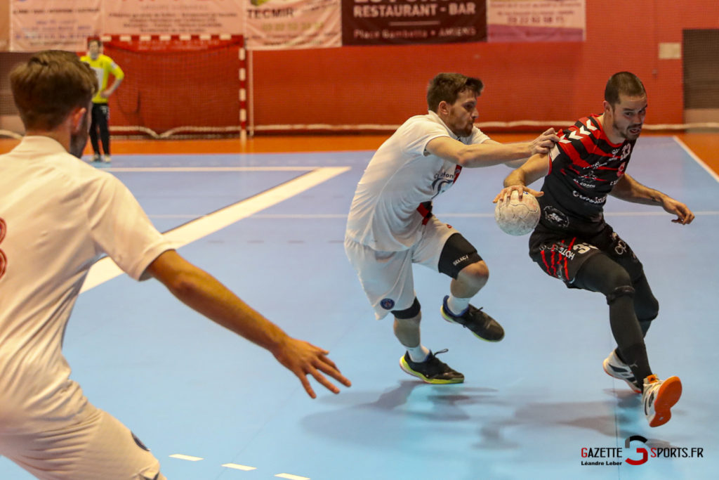 Handball Amiens Aph Vs Psg B 0012 Leandre Leber Gazettesports