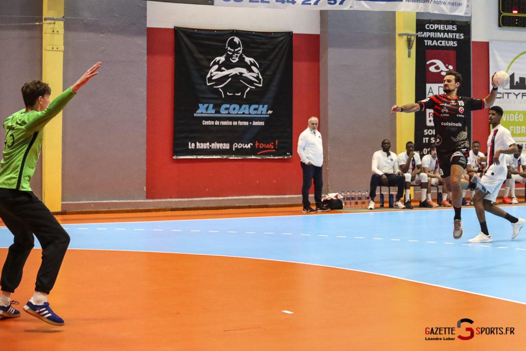 Handball Amiens Aph Vs Psg B 0013 Leandre Leber Gazettesports