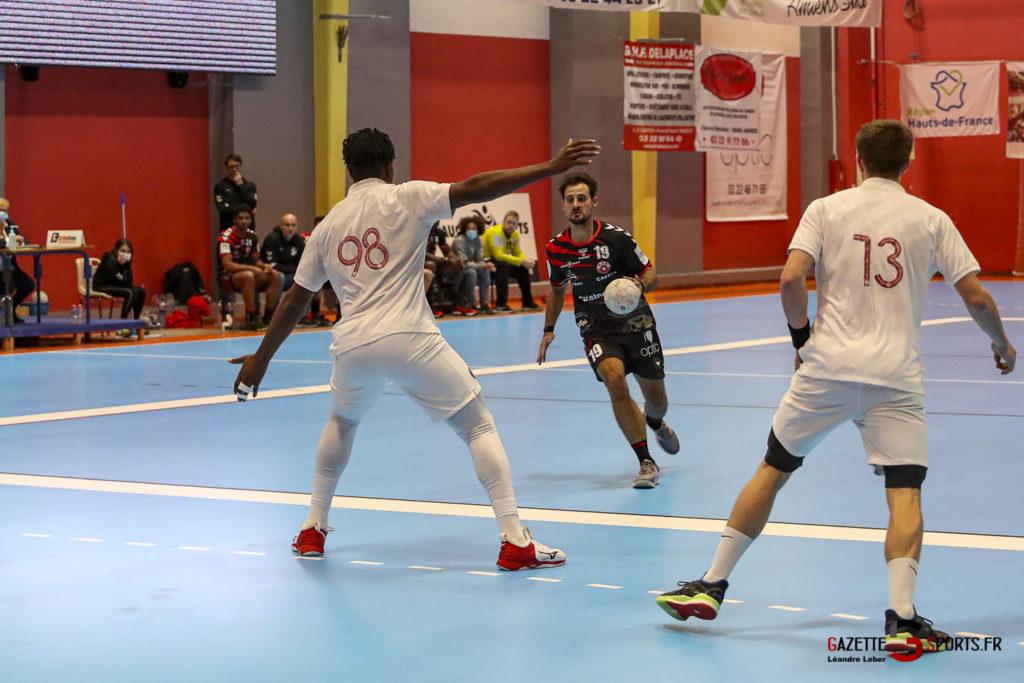 Handball Amiens Aph Vs Psg B 0015 Leandre Leber Gazettesports