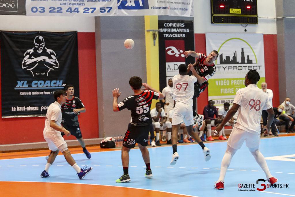 Handball Amiens Aph Vs Psg B 0016 Leandre Leber Gazettesports
