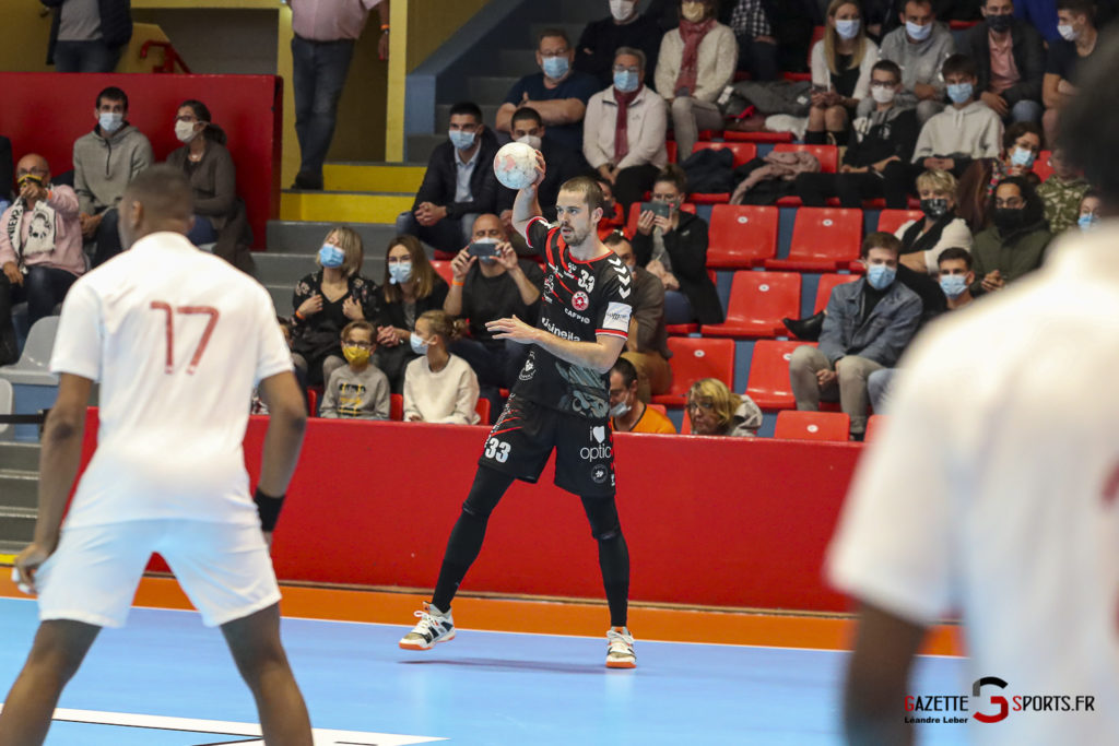 Handball Amiens Aph Vs Psg B 0017 Leandre Leber Gazettesports