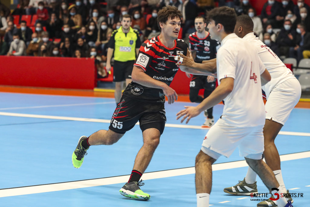 Handball Amiens Aph Vs Psg B 0018 Leandre Leber Gazettesports