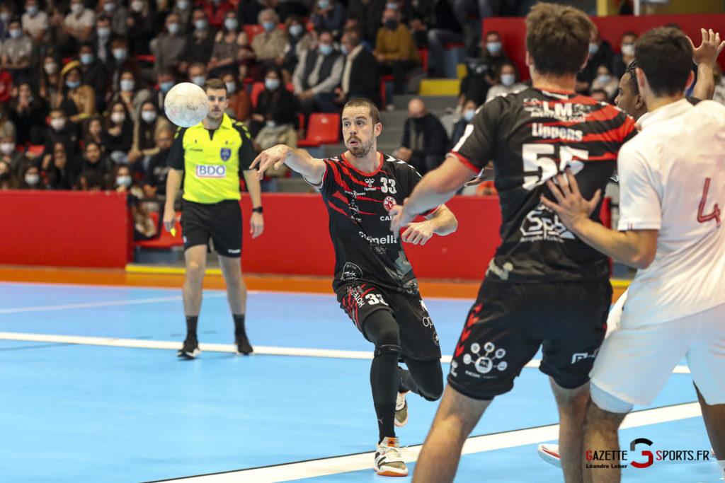 Handball Amiens Aph Vs Psg B 0019 Leandre Leber Gazettesports