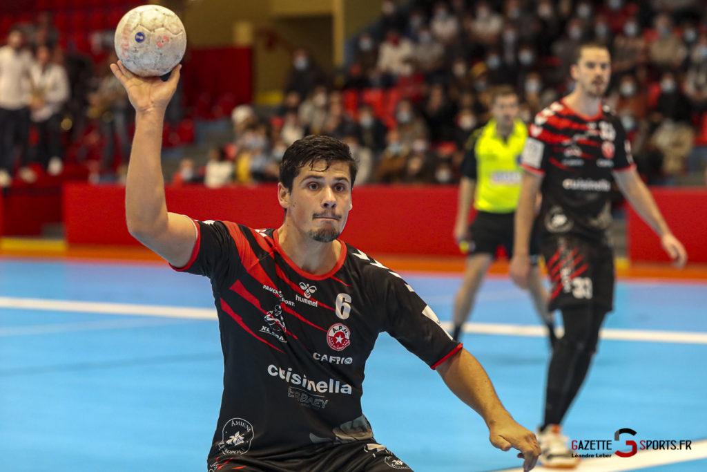 Handball Amiens Aph Vs Psg B 0020 Leandre Leber Gazettesports