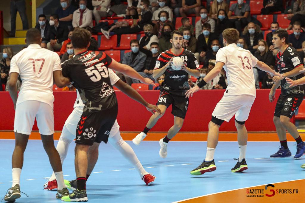 Handball Amiens Aph Vs Psg B 0021 Leandre Leber Gazettesports