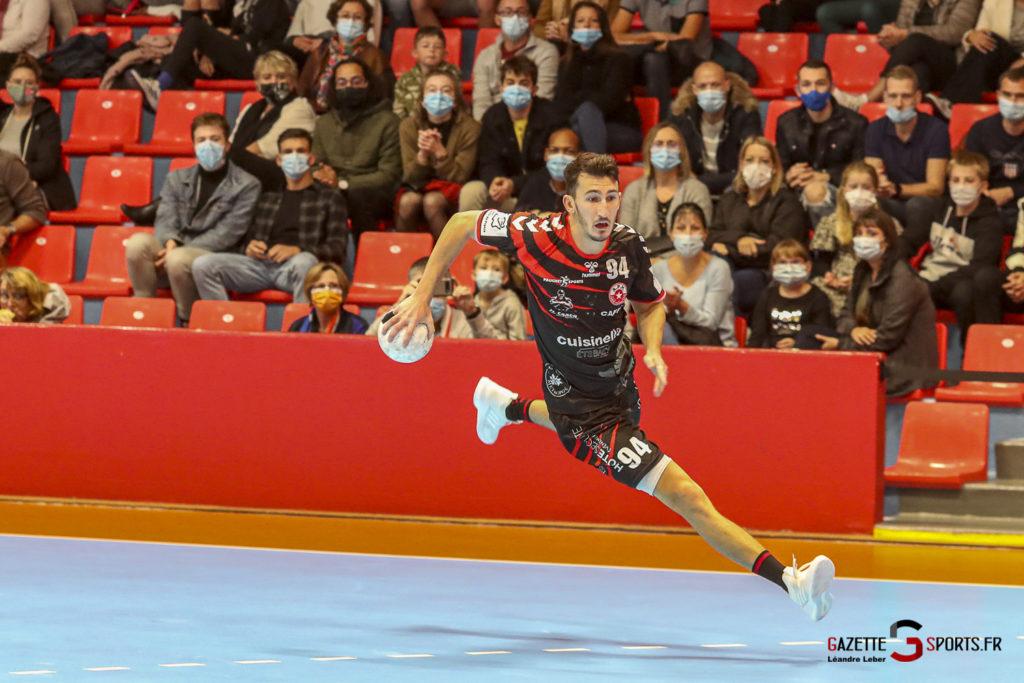 Handball Amiens Aph Vs Psg B 0022 Leandre Leber Gazettesports