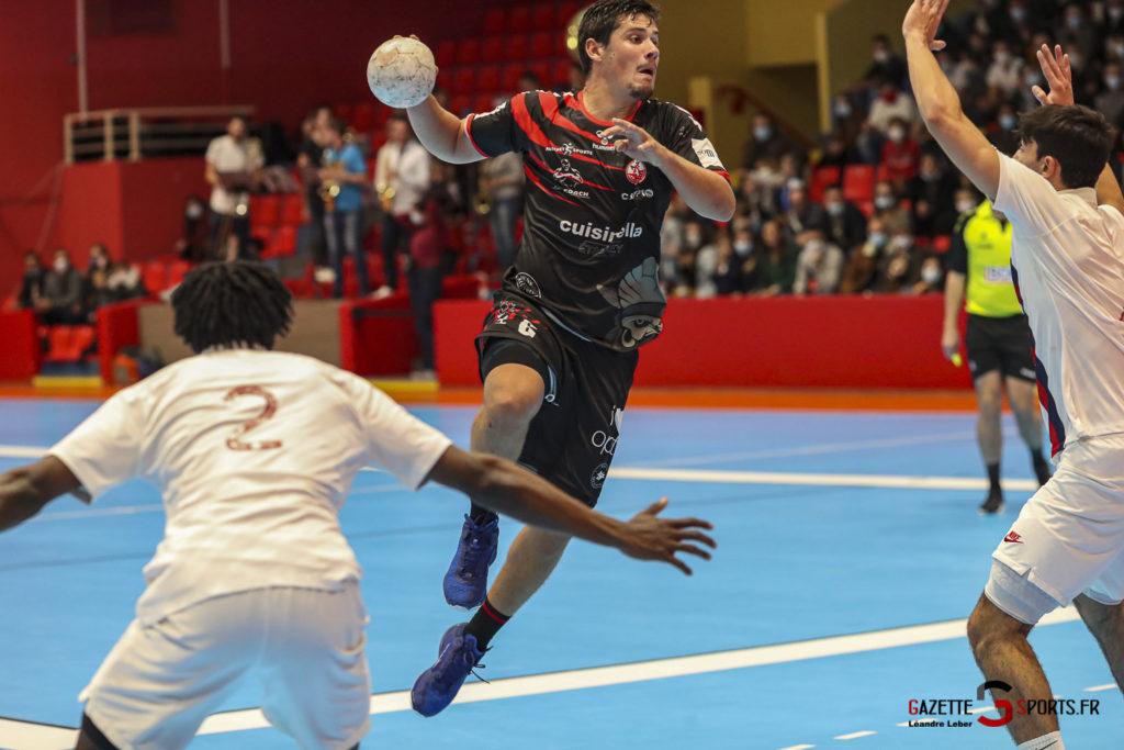 Handball Amiens Aph Vs Psg B 0024 Leandre Leber Gazettesports