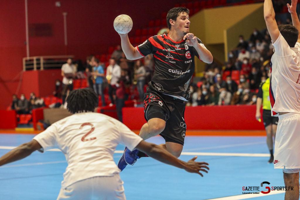 Handball Amiens Aph Vs Psg B 0025 Leandre Leber Gazettesports