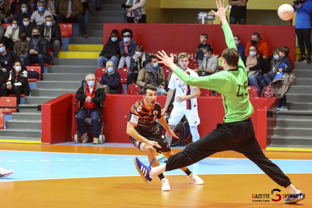 Handball Amiens Aph Vs Psg B 0027 Leandre Leber Gazettesports