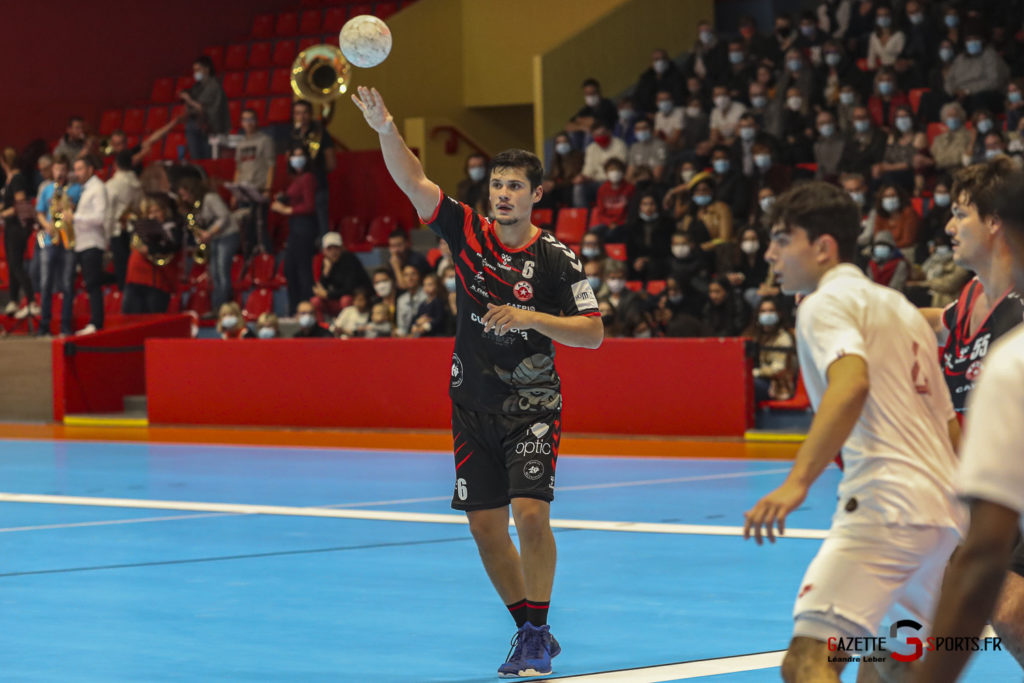 Handball Amiens Aph Vs Psg B 0028 Leandre Leber Gazettesports