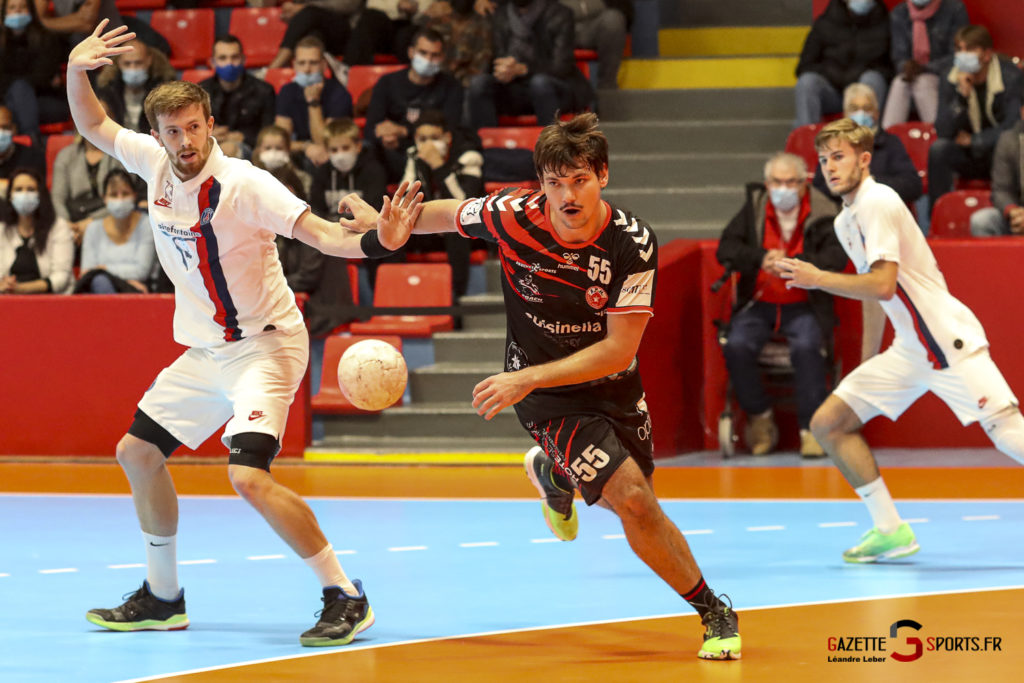 Handball Amiens Aph Vs Psg B 0029 Leandre Leber Gazettesports