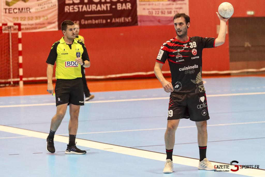Handball Amiens Aph Vs Psg B 0031 Leandre Leber Gazettesports